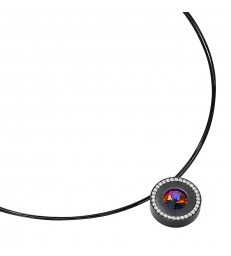 lumen II schwarz Pendant