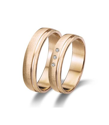 Elegant wedding rings