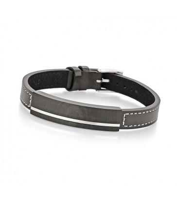 Men's carbon bracelet