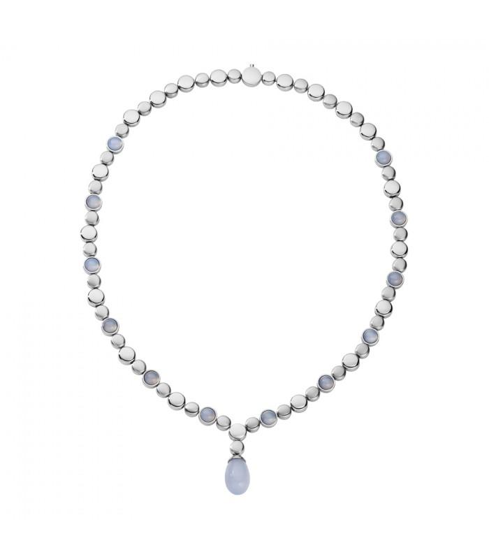 3285af7a4d54 Collar con piedras preciosas