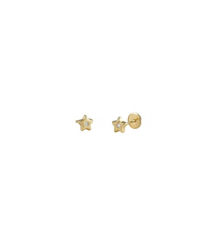 Baby Star Yellow Gold With Diamond