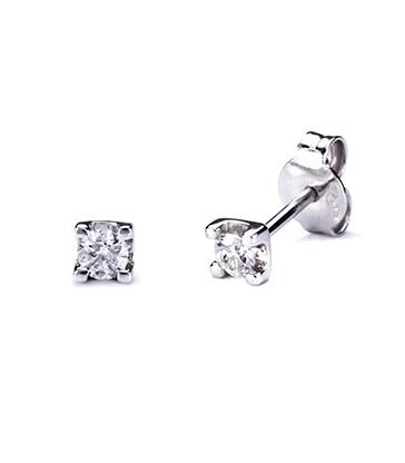 Dormilones Or Blanc amb Diamant