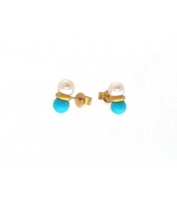 """""""Ocean"""" Earrings"""