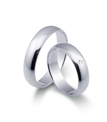 You & I wedding rings