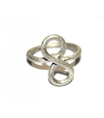 Silver Infinit Ring