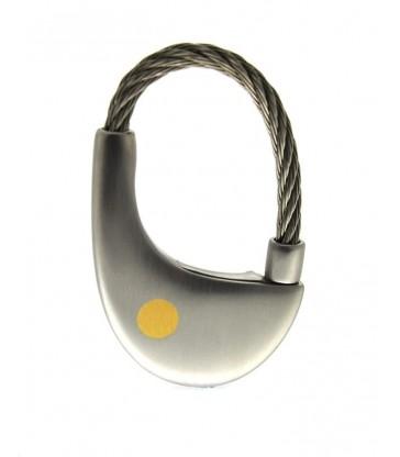 Keychain Steel, Gold
