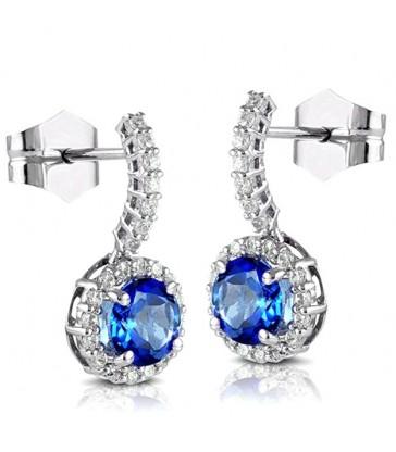 London Blue Topas Earrings